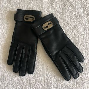 Gucci Genuine Leather Gloves